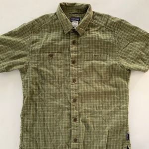 Patagonia Plaid Button Front Short sleeve Shirt